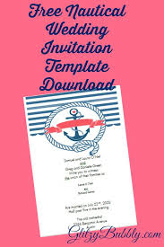 create invitations free and create your own diy free editable nautical wedding