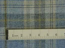 Curtain Upholstery Fabrics 100 Wool Tartan Plaid Cornflower Blue Fabric Curtain Upholstery