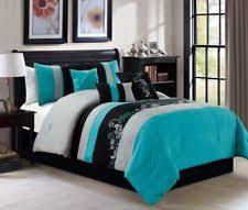 Black Comforter King Cal King Comforter Set Ebay