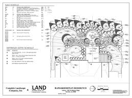 beautiful residential landscape architecture plan by architect e