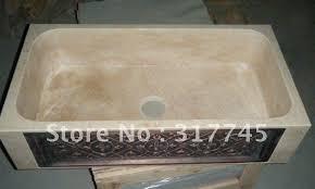 Stone Sinks Kitchen by Beige Granite Stone Farm Sinks Lowerst Price With Man Make