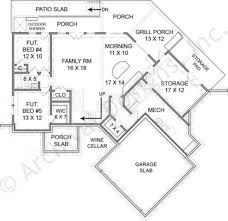 rustic lake empty nester house plans rustic home plans
