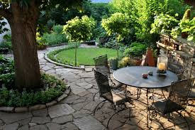 rock garden patio ideas cadagu idea fence plants for and design