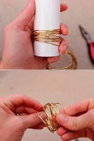 gold wire rings images Of glamorous diy gold wire napkin rings for fall weddings 7 jpg