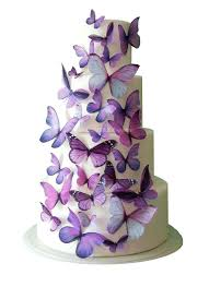 edible wedding cake decorations wedding cake topper edible butterfly wedding decorations