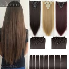 Cheap Thick Clip In Hair Extensions by Popular Thick Hair Extension Clip Buy Cheap Thick Hair Extension