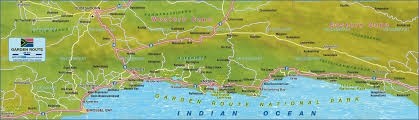 Map South Africa Map Of Garden Route South Africa Map In The Atlas Of The World
