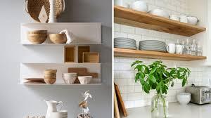 étagère à poser cuisine les étagères ouvertes dans la cuisine pour ou contre