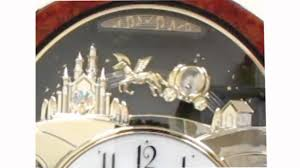 rhythm princess musical motion wall clock 4mh862