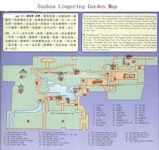 Suzhou China Map by Lingering Garden Map Suzhou Lingering Garden Photos