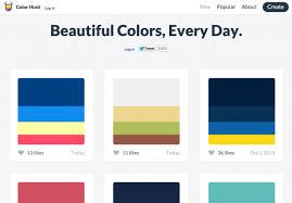 50 best color sites for designers