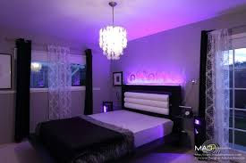 Led Bedroom Lighting Master Bedroom Custom Led Lighting Home Pinterest Master