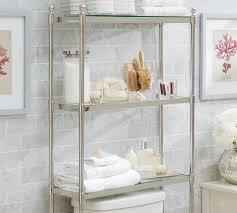 Bathroom Etagere Target Metal Over The Toilet Etagere Pottery Barn Bathroom