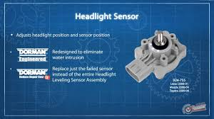 lexus rx300 lift kit headlight level sensor youtube
