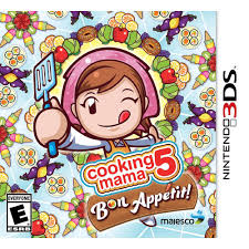 cooking mama 5 bon appetit nintendo 3ds standard edition