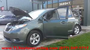 parting out 2013 toyota sienna stock 4043gr tls auto recycling