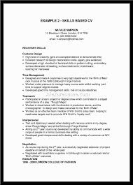 Skills Resume Sample by Relevant Skills Resume Best Free Resume Collection