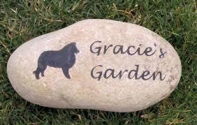memory stones sheltie memorial sheltie memory grave marker headstone