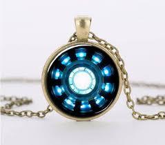 glass necklace pendant images Iron man arc reactor pendant glass necklace pluto99 jpg