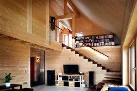 Interior Houses Hi Tech Wooden House Built Without Glue Screws Or Nails Only
