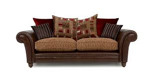 Sofa Back Pillows by Santiago 4 Seater Pillow Back Split Sofa Dfs