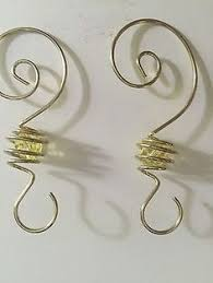 wire hook for ornaments made with wigjig jewelry