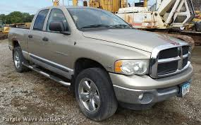 2004 dodge ram 1500 quad cab pickup truck item k2067 sol