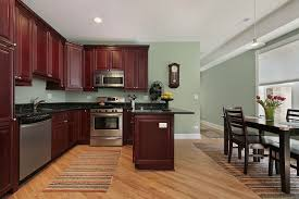 kitchen wall color ideas with cherry cabinets wall colors with wood kitchen cabinets layjao