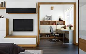 tuananh eke s wooden framed multipurpose space with office and