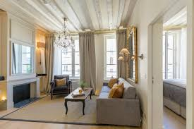 Parisian Living Room by Paris Apartment Guest Reviews