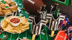Super Bowl Decorating Ideas How To Completely Nail Your Super Bowl Party Evening Express