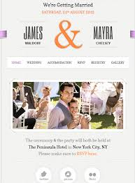 wedding site just married theme for wedding wp solver