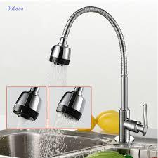 aliexpress com buy dofaso kitchen shower faucet spring kitchen