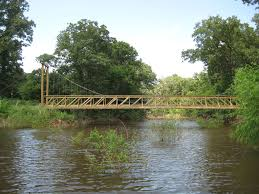 oklahoma suspension bridge 6 steps with pictures