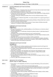 resume exles for software engineers embedded software engineer resume sles velvet jobs