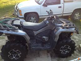 vague pics of 1000 max xt service outlaw install can am atv forum
