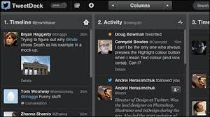 tweetdeck android iphone version of the standard client tweetdeck