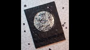 black on black masculine birthday card youtube