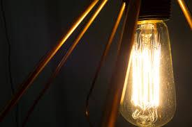 Diy Hanging Light Fixtures Make It Modern Diy Copper Geometric Pendant L Design Milk