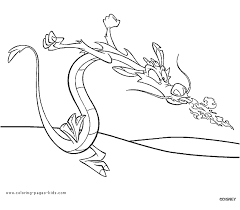 mulan coloring pages printable disney coloring pages