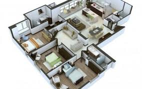 plan your house 3d home interior design creative apartment design ideas