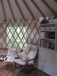 Living In A Yurt by Quilted Yurt Project A Woven Education
