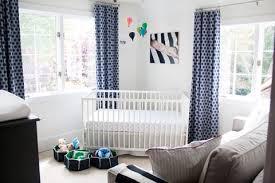 Navy Blue Curtains For Nursery Navy And White Nursery Design Nursery Pinterest Nursery