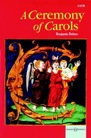 a ceremony of carols satb choral score j w pepper sheet