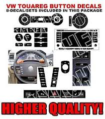 vw touareg fog light assembly volkswagen touareg worn button repair kit stickers decals vw climate