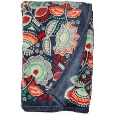 Vera Bradley Twin Comforter Vera Bradley Throw Blanket Nomadic Floral Blankets 49