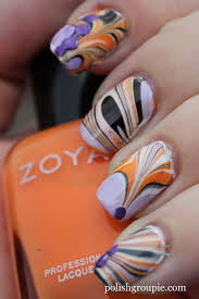 181 best inspiration nails water marbling images on pinterest