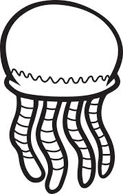 jellyfish coloring pages kids coloring pages