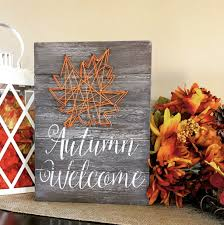 Autumn String Lights by Hello Autumn String Art U2013 Knot And Nest Designs