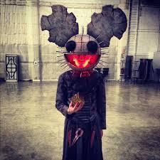 Realistic Scary Halloween Costumes Deadmau5 U0027s Costume Awesome Dj Edm Horror